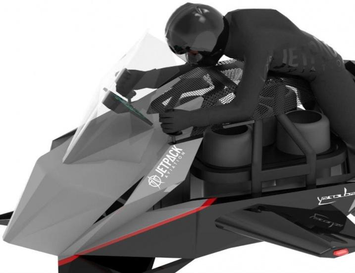 The Speeder, la motora voladora que ya puedes reservar por $380,000