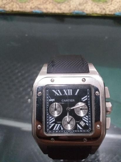 Reloj Cartier recuperado.