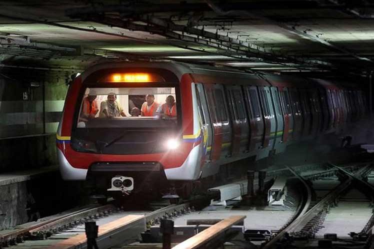 Reactivan servicio del Metro de Caracas tras recuperación de sabotaje
