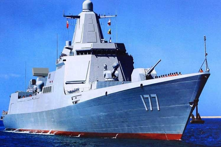Armada china mostrará su fortaleza en celebración de 70 aniversario