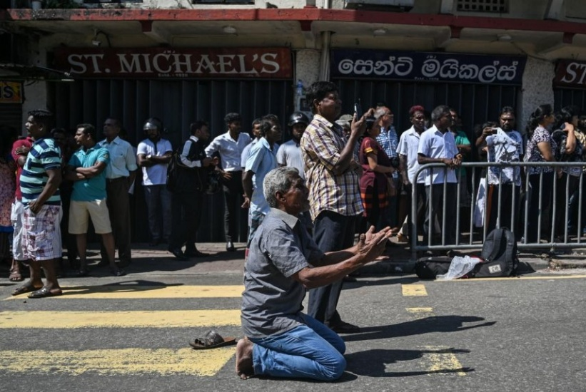 Sri Lanka: Se estalla una furgoneta cerca de una iglesia mientras desactivaban una bomba