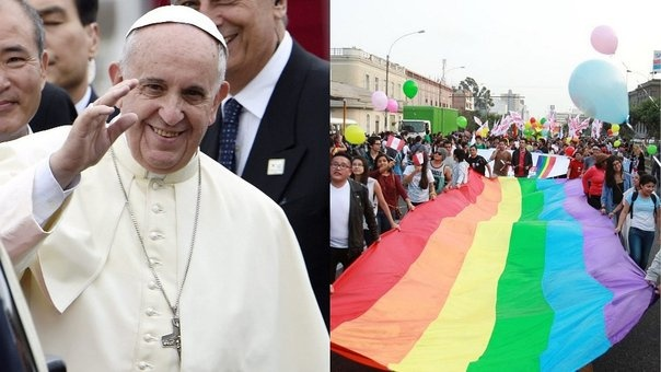 """Papa Francisco: quien rechaza a los homosexuales """"no tiene corazón humano"""""""