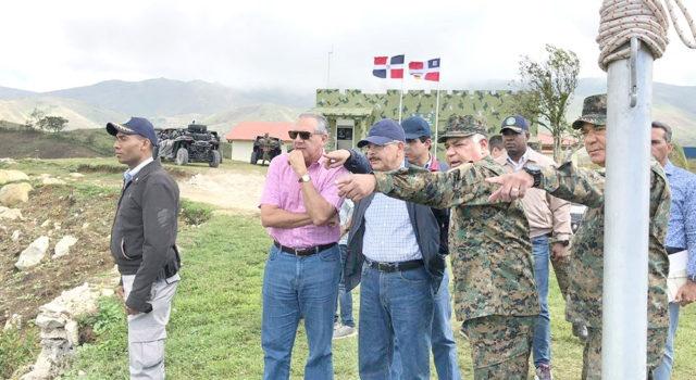Visita sorpresa del presidente Danilo Medina esta semana fue un recorrido fronterizo