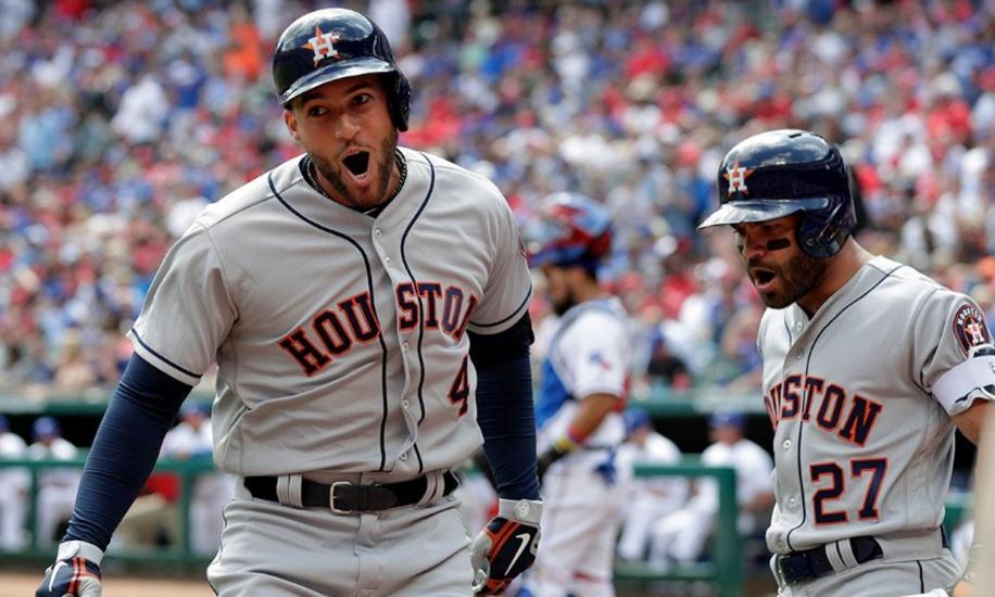 Astros marcan la pauta en las mayores y Rays acumulan cinco series