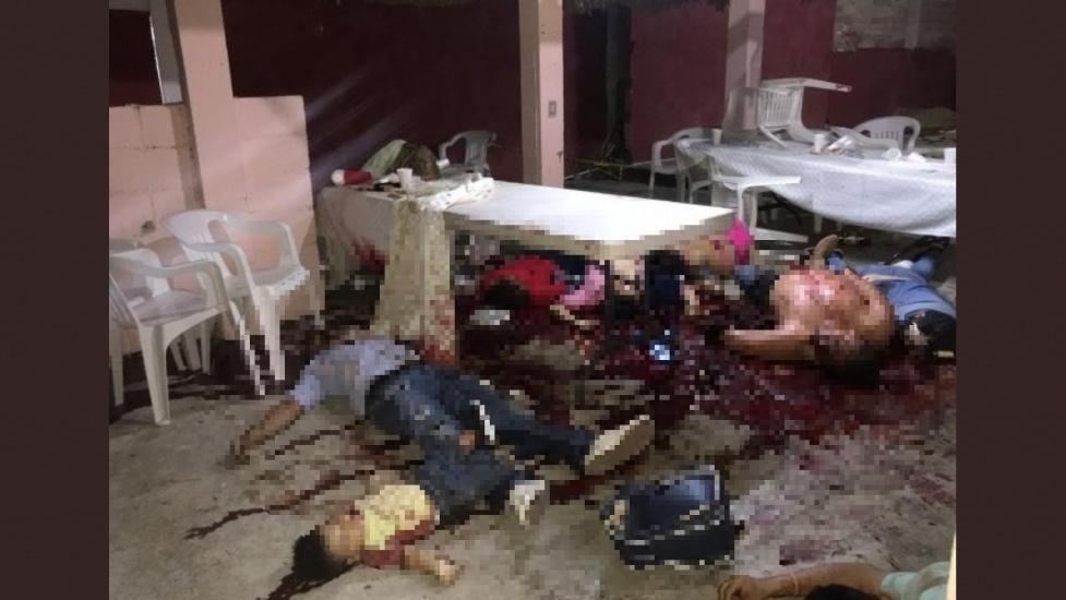 Hombres armados matan en una fiesta a al menos 14 personas, incluido un menor en México