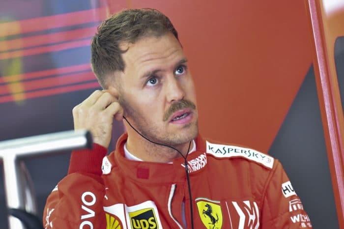 """Vettel: """"Retirarme de la Fórmula Uno, por ahora, no es una opción"""""""