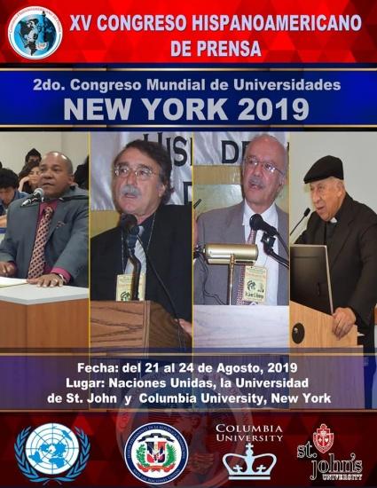 Celebraran XV Congreso de periodismo y universidades en la ciudad de New York