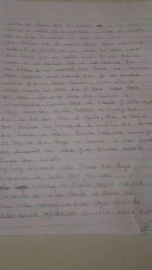 Una adolescente de 14 años se fuga de su casa por supuesto pacto con el Diablo