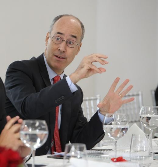 Gonzalo Parral, Gerente General y Primer VP de Scotiabank.