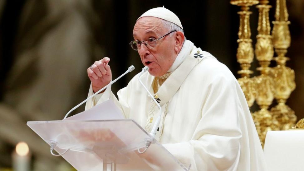 El papa llama periodistas a no ser altavoces de quienes tienen más poder