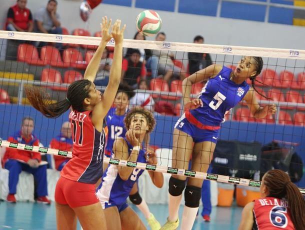 Cuba se queda con el oro en voleibol, Dominicana obtiene plata