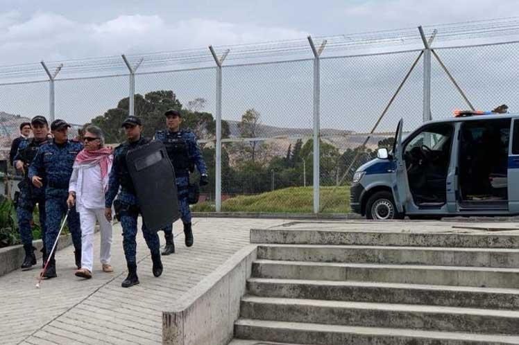 Fiscal encargado de Colombia firma libertad de Jesús Santrich