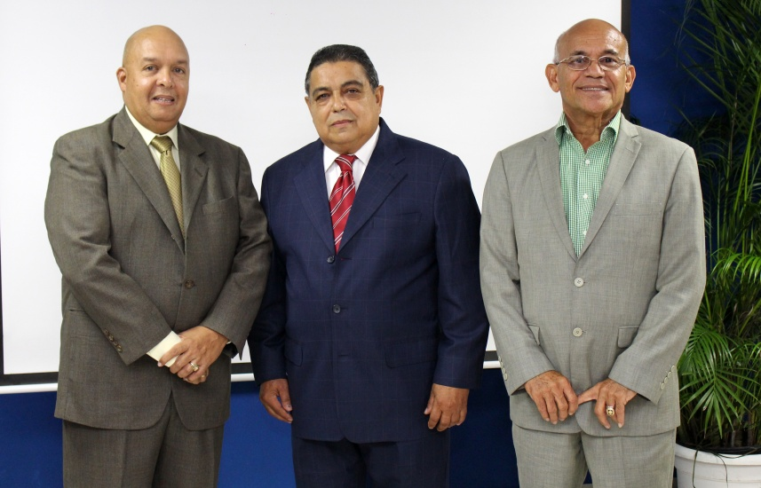 César Augusto José Mercedes, Franklin Núñez y Manuel Pérez.