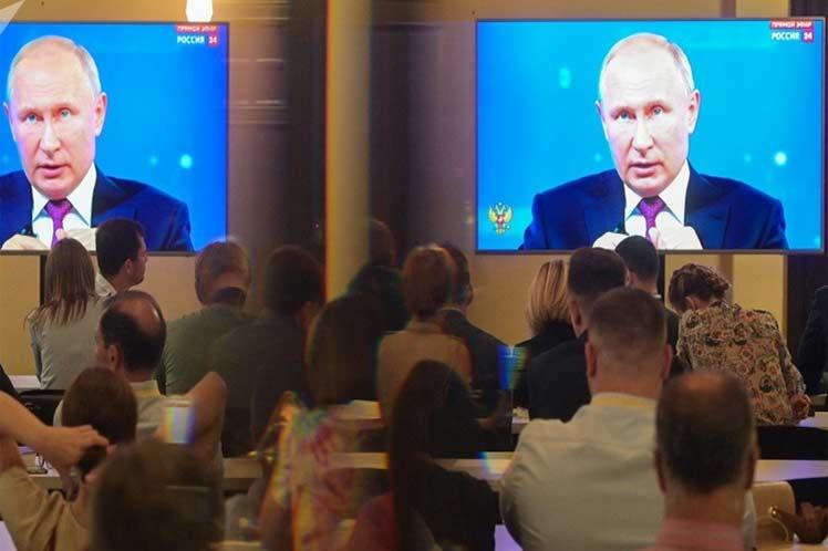 Putin: un ataque de EE.UU. contra Irán sería una catástrofe