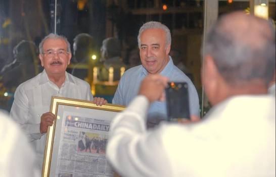 Danilo Medina se reunió con empresarios en Cap Cana