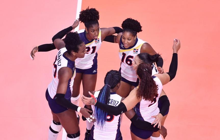 Las Reinas del Caribe terminan en grande y cerraron con victoria sobre Japón en la Liga de Naciones