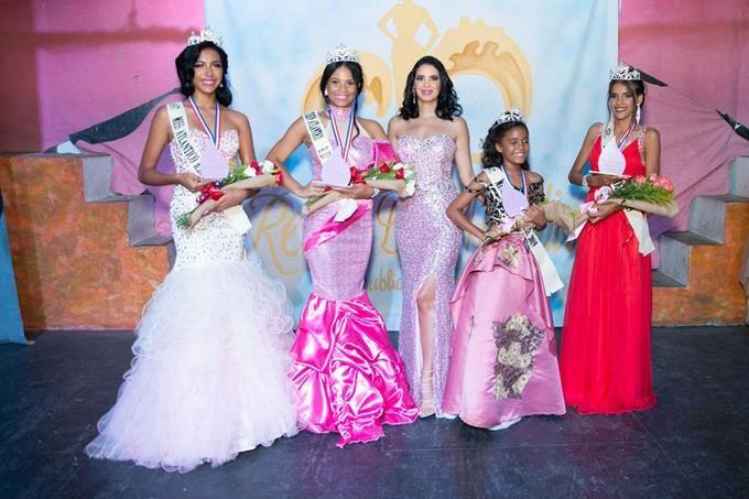 """Eligen las ganadoras de concurso de belleza """"Reina del Atlántico"""" realizado en Sosúa"""