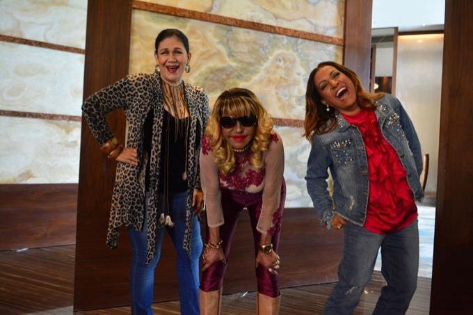 Tres grandes artistas dominicana en un solo concierto, Fefita, Milly y Maridalia