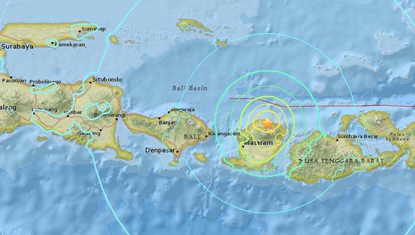 Un fuerte sismo de magnitud 7,3 en Indonesia se sintió hasta en Australia