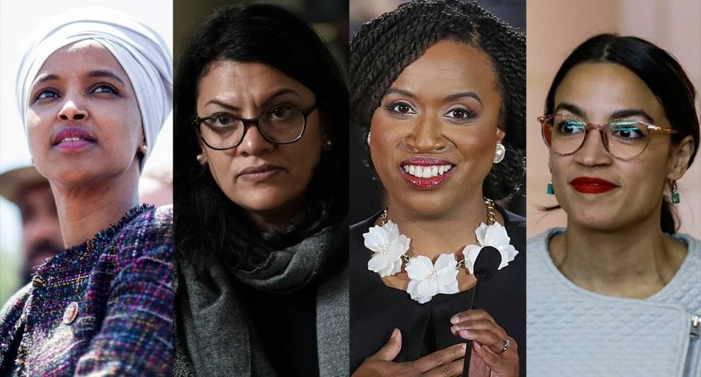 """Trump insiste contra las congresistas negras y latinas: """"Si no les gusta este país, que se vayan"""""""