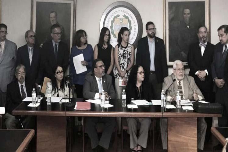 Establecen bases jurídicas para proceso político a gobernador boricua