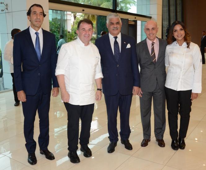 Los Hoteles Paradisus by Meliá y sus restaurantes Passion by Martín Berasategui apoyan Diplomacia Gastronómica Dominicana