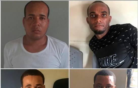 Vigilante de entidad fue autor intelectual en robo a banco en el que participaron dos parejas de hermanos