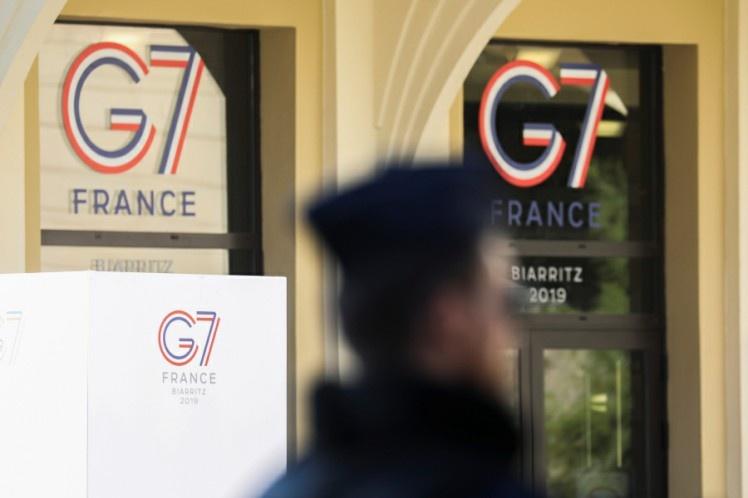 Comienza en la ciudad francesa de Biarritz la cumbre del G-7