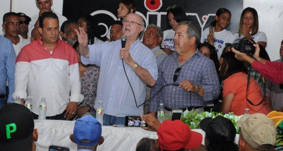 Hipólito Mejía promete poner en práctica su gran experiencia para beneficiar agropecuaria del país
