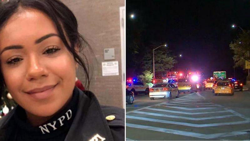 Dos oficiales de origen dominicano murieron en un espantoso accidente de tránsito en Nueva York