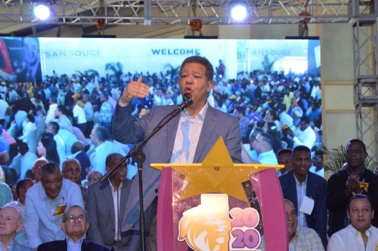 Leonel Fernández dice PLD será fuerza política que ganará comicios con más de tres millones de votos