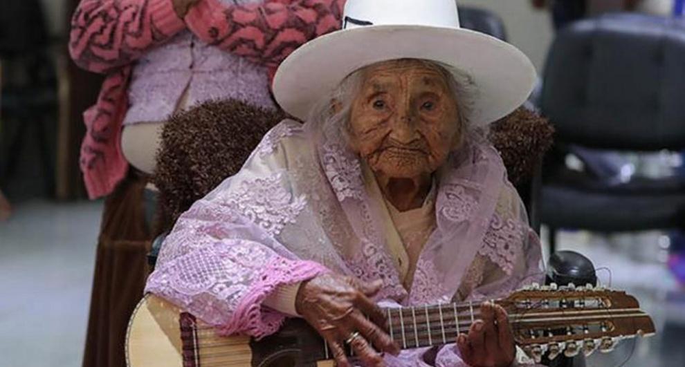 Murió Mamá Julia, la más longeva de Bolivia,a los 118 años
