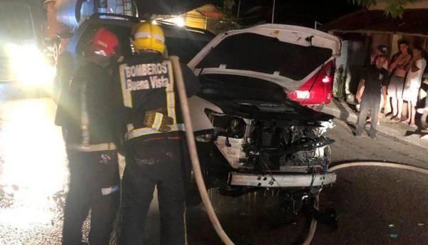 Joe Veras sufreaparatoso  accidente de tránsito tras regresar de concierto en Jarabacoa