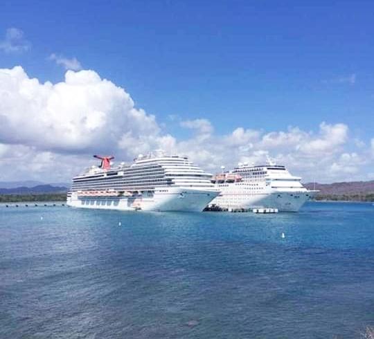 Anuncian terminal Amber Cove de Maimón recibirá 11 barcos cruceros repletos de turistas durante el mes de septiembre