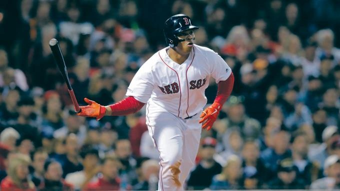 Gigantes aplastan a Boston 11-3;  Rafael Devers, décimo de RD llega a 30 H4 este año