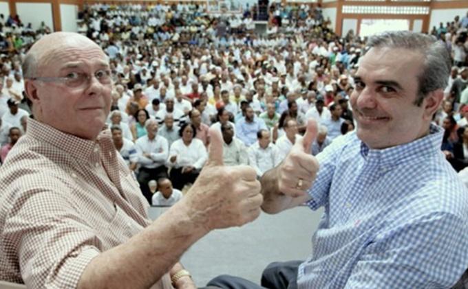 Seguidores de Hipólito Mejía aceptan apuesta contra Luis Abinader, y que sean RD$10 millones en vez de dos