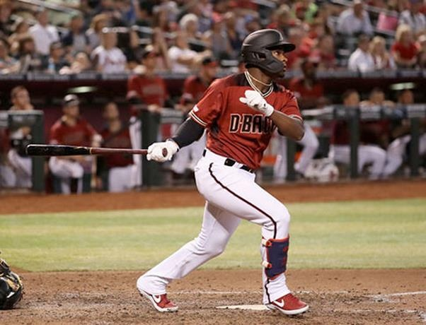 Domingo Leyba decide victoria Arizona sobre Marlins;