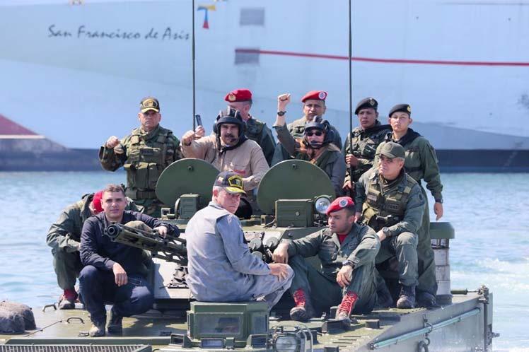 Venezuela reafirma su derecho a defender la soberanía nacional