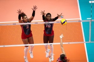 Rusia batalla duro para vencer 3-2 a las Reinas de RD en Copa del Mundo de Voleibol