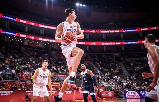 Estados Unidos pierde de Serbia y queda en sexto lugar en Mundial de baloncesto