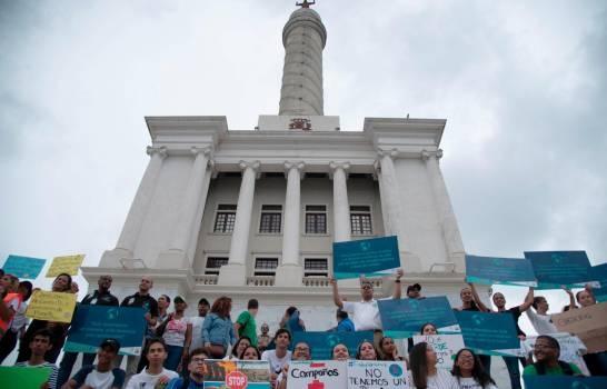 En Santo Domingo y Santiago fueron protagonistas de concentraciones por el cambio climático este sábado