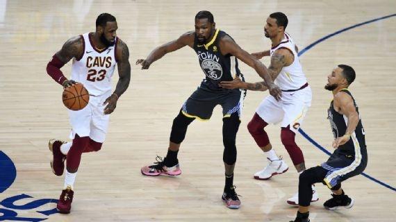 LeBron, Curry y Durant: las tres súper estrellas que definieron la década en la NBA