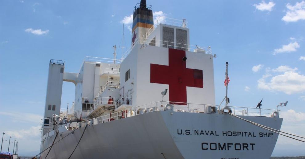 Buque hospital de EEUU llegará a la RD ofrecerá servicios médicos gratuitos al público durante 6 días
