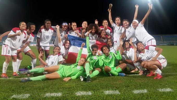 Selección dominicana de fútbol.asegura boleto al Preolímpico