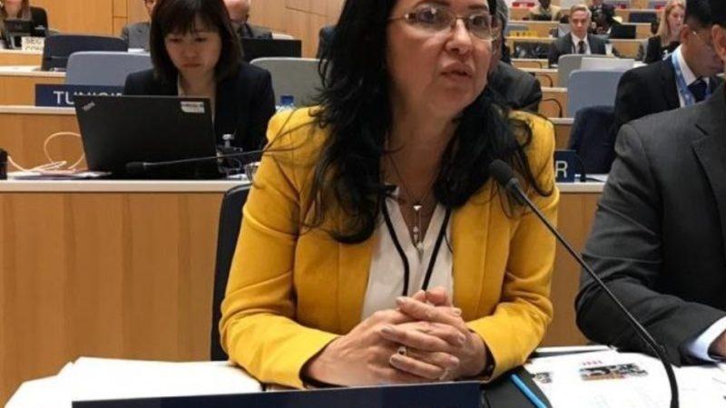 Sandy Lockward participa en la Asamblea de la Organización Mundial de la Propiedad Intelectual