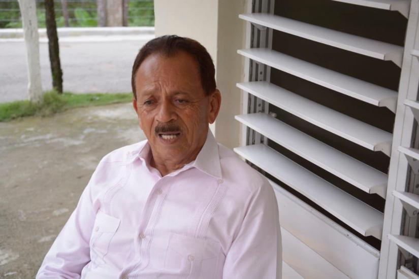 Gregorio Reyes el famoso Goyo, hace llamado a unidad del PLD y agradece respaldo en candidatura en Dajabón