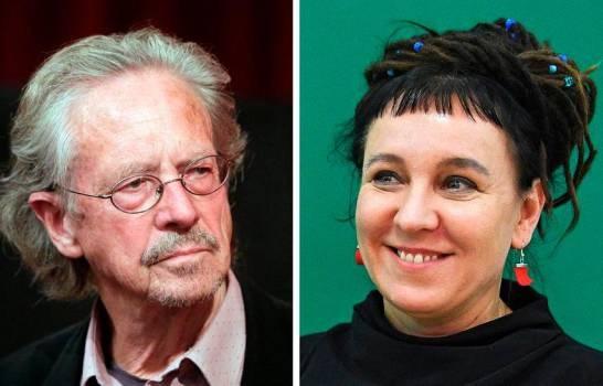 Polaca Tokarczuk y austríaco Handke ganan el Nobel de Literatura 2018 y 2019