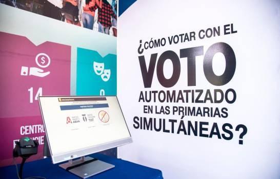 Pleno JCE dispone Auditoría Forense a Voto Automatizado utilizado en Primarias Simultáneas