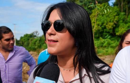 Leonela Massiel Espinal Compañera de boleta de Abel Martínez dice estar sorprendida por su elección