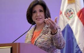 Margarita Cedeño se refiere al fallo del TSE y dice decisiones de los tribunales son para cumplirlas